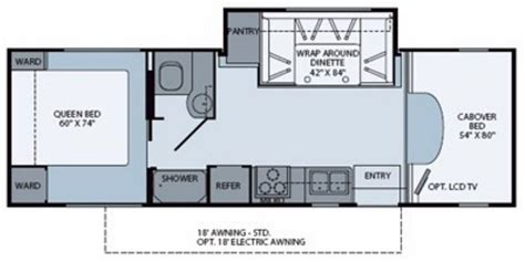 Tioga Rv Floor Plans 2011 fleetwood tioga ranger 28y used motorhomes and rvs