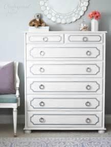 white dresser for room s room dresser redo centsational