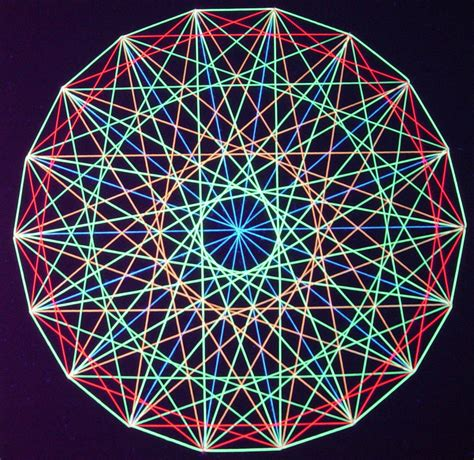 Geometric String Patterns - string kit sles string kits mandala