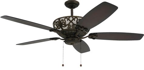 Ornate Ceiling Fans by Troposair Excaliber 60 In Rubbed Bronze Ceiling Fan With