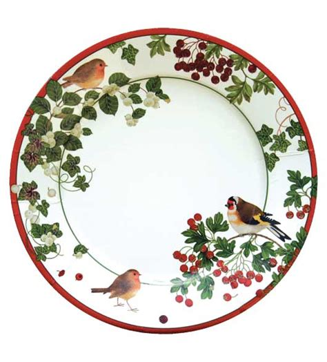 decorative paper dinner plates christmas paper plates