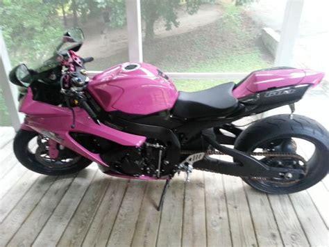 Pink Suzuki 2008 Pink Suzuki Gsxr 600 No Reserve For Sale On 2040 Motos