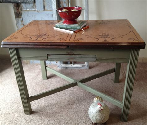 Vintage Enamel Kitchen Table Vintage Enamel Top Kitchen Table