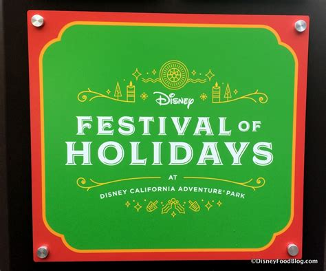 disneyland festival of holidays booths menus and food photos the disney food