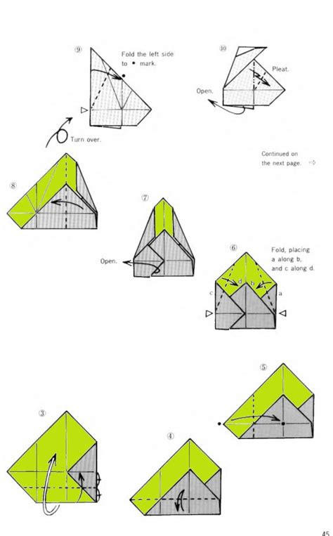 Origami Box Directions - free coloring pages octagonal box origami origami box