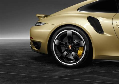 gold glitter car porsche exclusive personalization department shows off