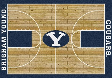 Collegiate Rugs by Brigham Cougars Area Rug Ncaa Cougars Area Rugs