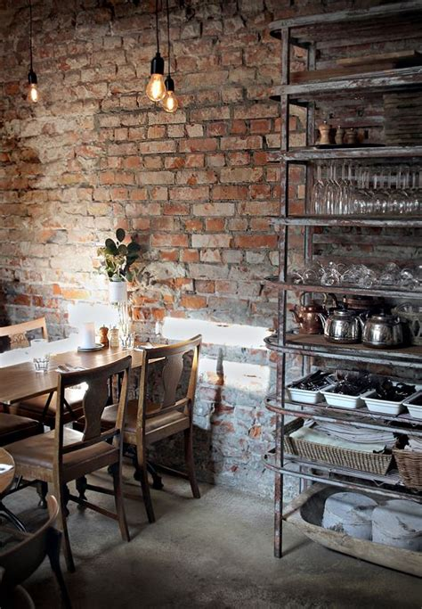 exposed brick wall lighting love the brick wall a must with old vintage white paint