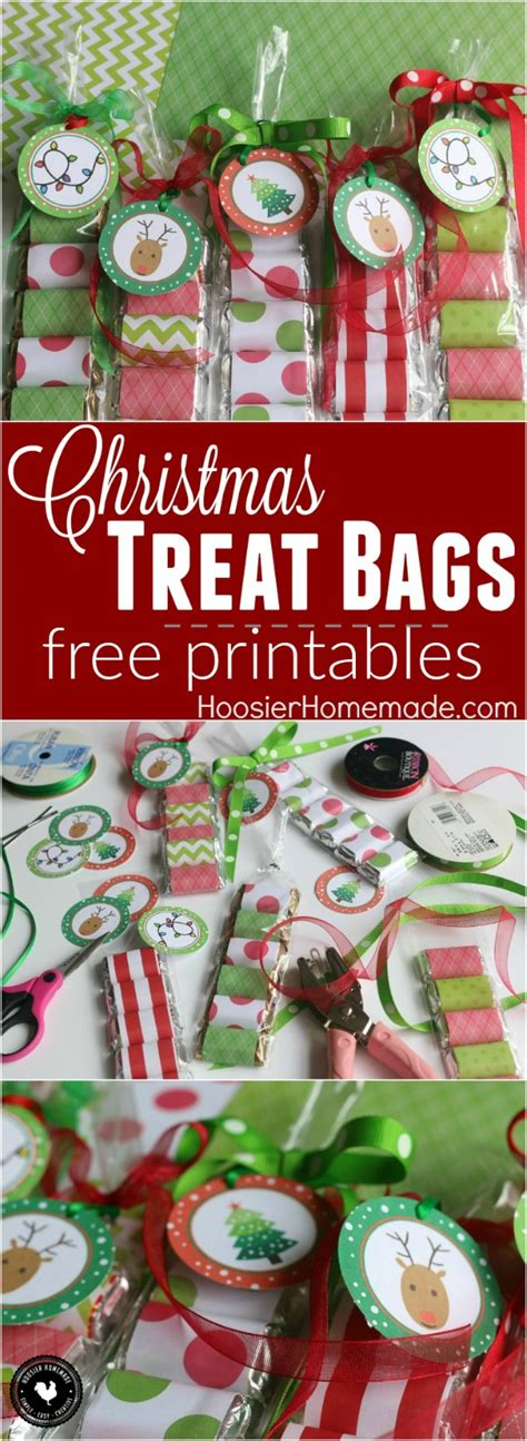 Mini Candybag With Premium Tag treat bags hoosier