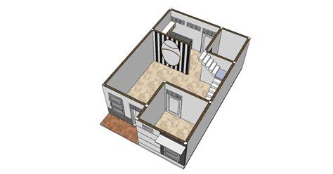 membuat rumah ukuran 6 x 9 belajar menggambar desain rumah 6 x 9 m