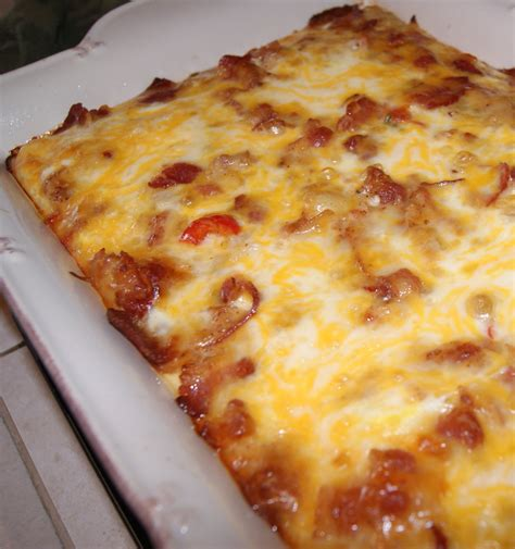 comfort breakfast bake bacon breakfast bake
