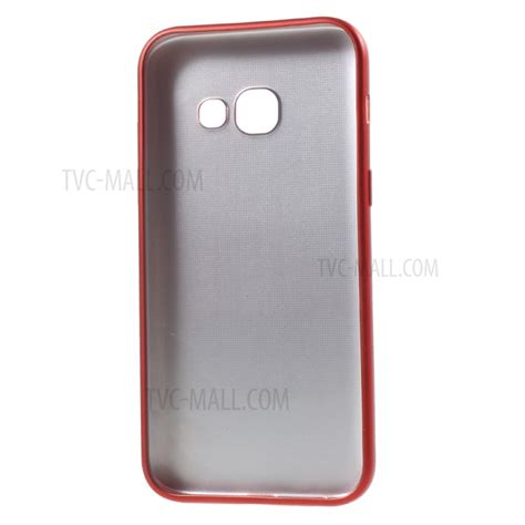 Samsung Galaxy A3 2017 Softcase Matte Black Dopp Soft Cover Casin soft tpu protection cell phone cover for samsung galaxy a3 2017