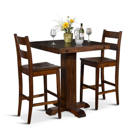 Pub Table And Stools by Tuscany Table With 2 Stools Hom Furniture