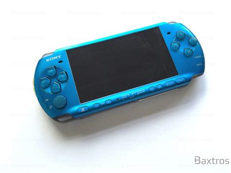 psp 3000 console sony psp 3000 console blue baxtros