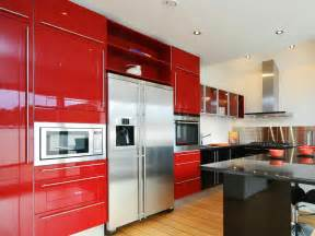 red kitchen cabinets pictures ideas amp tips from hgtv paint with tags