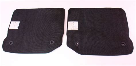 mk4 golf mats rear floor mat set 99 05 vw jetta golf gti mk4 black