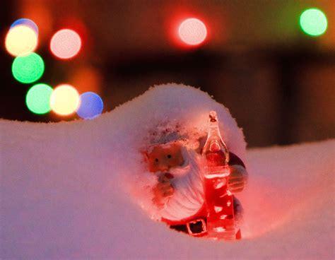 santa bubble lights