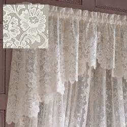 Shari Lace Curtains Jc Penney Shari Lace Shaped Valance