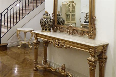 Entrance Tables And Mirrors Georgian Grand Console Table Mirror Timeless Interior Designer