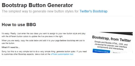 best bootstrap layout generator 10 great bootstrap design tools for web designers and