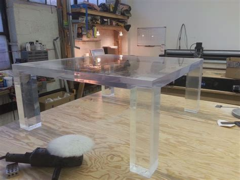 acrylic side tables living room lucite desk waterfall lucite desk with rectangular glass top desks salibello concord