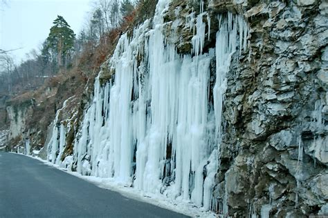 frozen waterfalls frozen waterfall in liechtenstein wallpapers and images