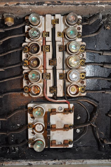 What Year Did Knob And Wiring Stop by Electrical Panels In Home Inspections