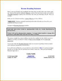 resume branding statement exles 11 personal branding statement resume exles attorney