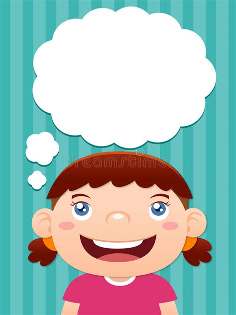 cute cartoon girl thinking royalty free stock photos cartoon girl thinking stock vector image of geek girl