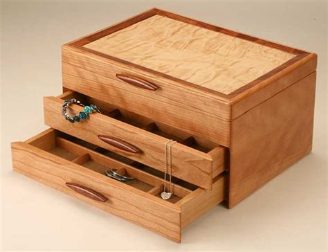 Jewelry Containers For Drawers by Mike Fisher Heartwood Creations Cascade I Collection 2