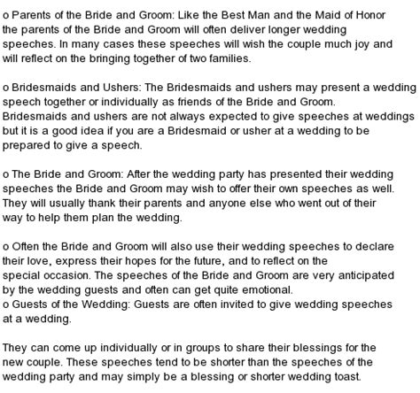 Wedding Ceremony Speech by All Of Best Wedding Speeches Wedding Anniversary Mc