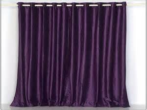 Purple Curtains Door Windows Picture Window Of Purple Velvet Curtains