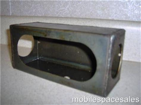 trailer light mounting box 2 trailer light mounts box used for led lights ebay