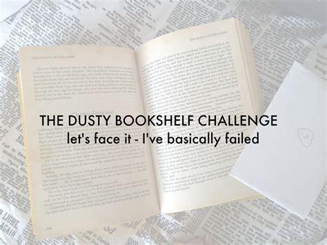 the dusty bookshelf challenge level fail veggie