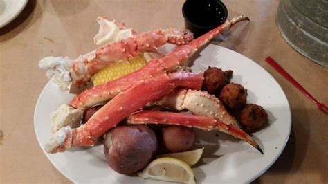 alaskan king crab house menu alaskan king crab dinner picture of laishley crab house punta gorda tripadvisor