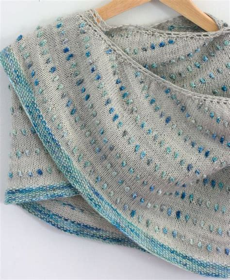 knitting how to turn dot shawl not bobbles don t to turn your work