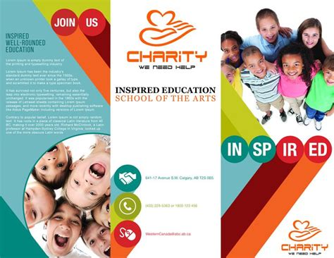 Ngo Brochure Templates by 22 Best Images About Ngo Charity Brochures And Flyers On