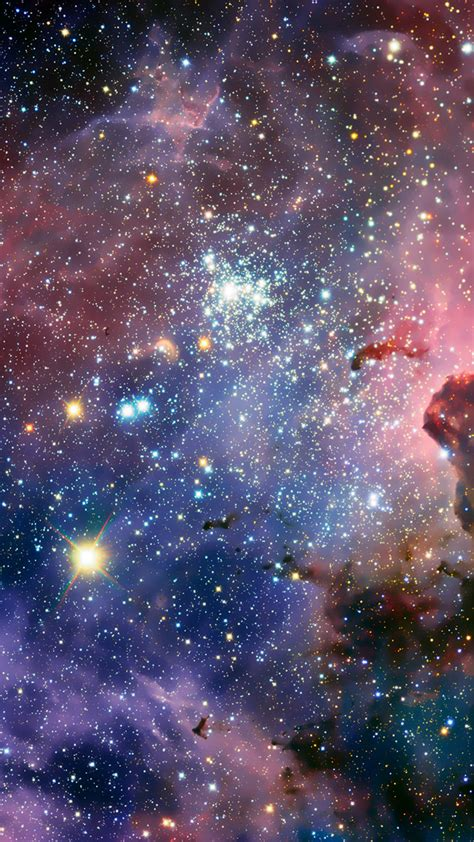 glitter wallpaper for iphone 6 fantasy shiny glitter nebula starry outer space iphone 6