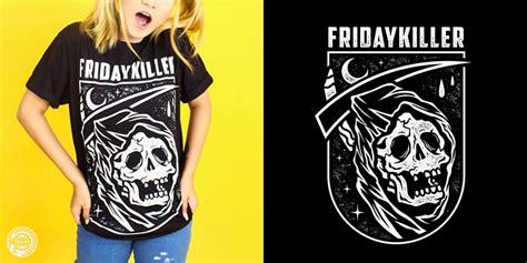 Termurah Hoodie Friday Killer reaper fkco t shirt design by hellfun co mintees