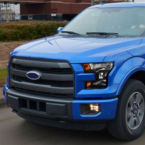 Ford F150 Headlights by 2015 16 Ford F150 Replace Headlights Black