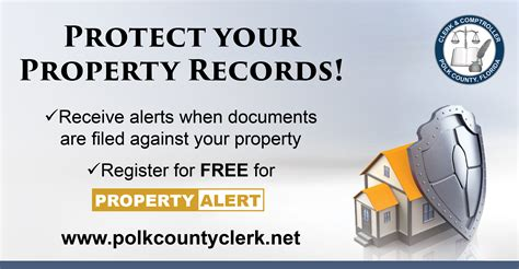 Polk County Records Property Protect Your Property Records Polk County Clerk Town Of Dundee Florida