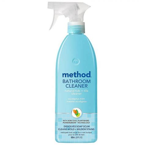 natural bathtub cleaner method natural tub tile bathroom cleaner eucalyptus