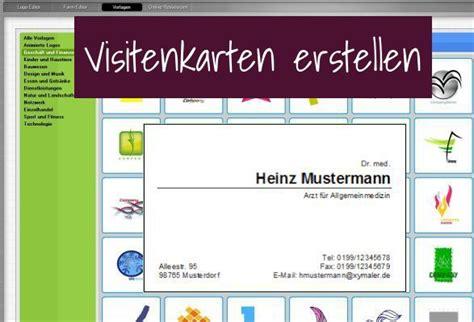 Visitenkarten Design Vorlagen Kostenlos Windows Kostenlos Eigene Visitenkarten Erstellen Und Ausdrucken Freeware De