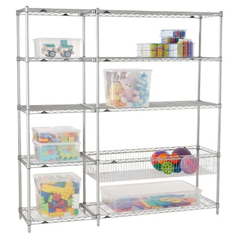 Intermetro Playroom Shelving The Container Store Container Store Shelving