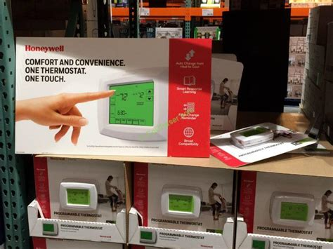 costco hvac reviews honeywell 7 day programmable touchscreen thermostat