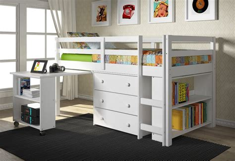 bunk beds with dresser built in top 7 cutest beds for little girl s bedroom cute furniture