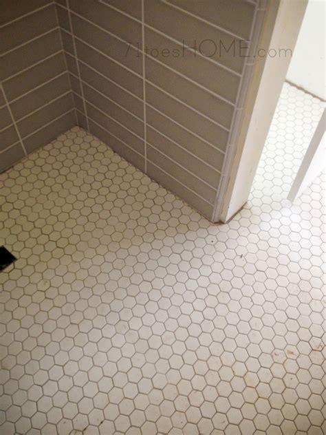 1 Hexagon Ceramic Floor Tile - one inch hexagon floor tile tile design ideas