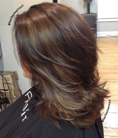 hairstyles for fine hair with highlights pin by barbara anne on hair makeup by barbara anne