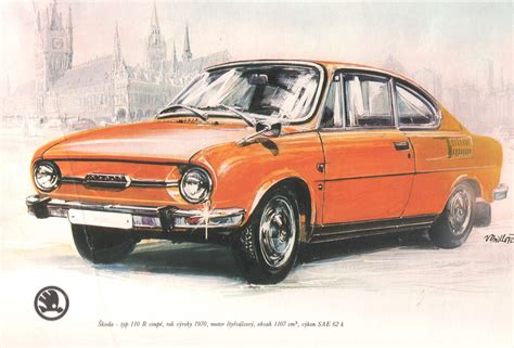 1970 skoda 110 r carsaddiction