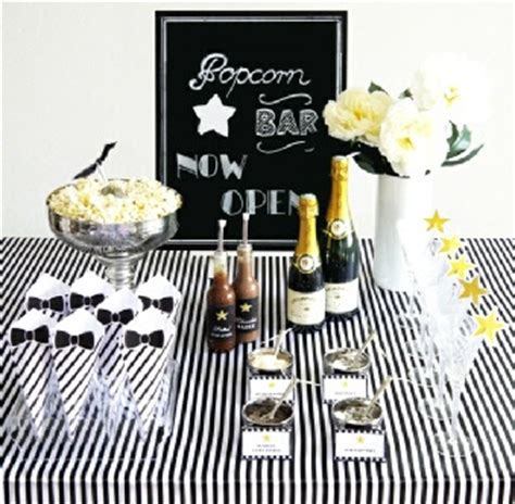 themed black tie events popcorn party the preppy planner